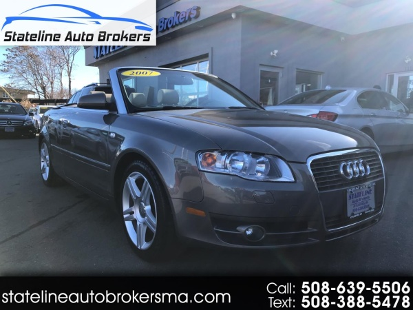 2007 Audi A4 2007 Cabrio 20t Quattro Automatic For Sale In