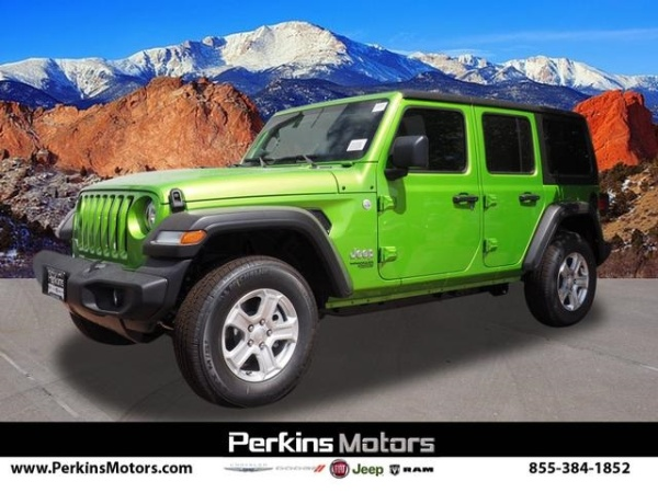 2020 Jeep Wrangler in Colorado Springs, CO