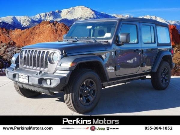 2018 Jeep Wrangler in Colorado Springs, CO