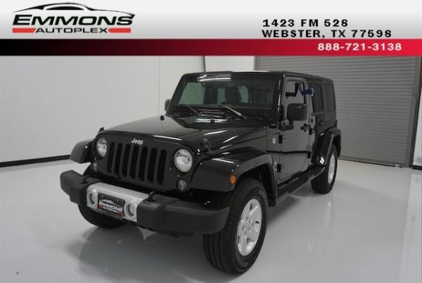 2015 Jeep Wrangler in Webster, TX