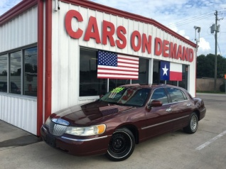 Used Lincoln Town Car For Sale In Egypt Tx 14 Used Town Car