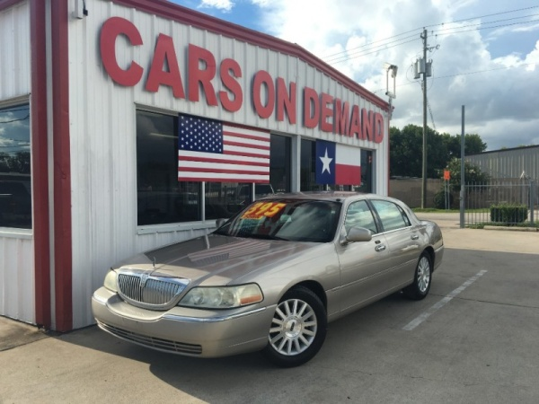 Used Lincoln Town Car For Sale In Houston Tx U S News World Report