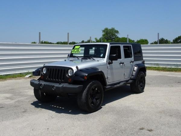 2007 Jeep Wrangler Unlimited Sahara 2wd For Sale In Pasadena Tx