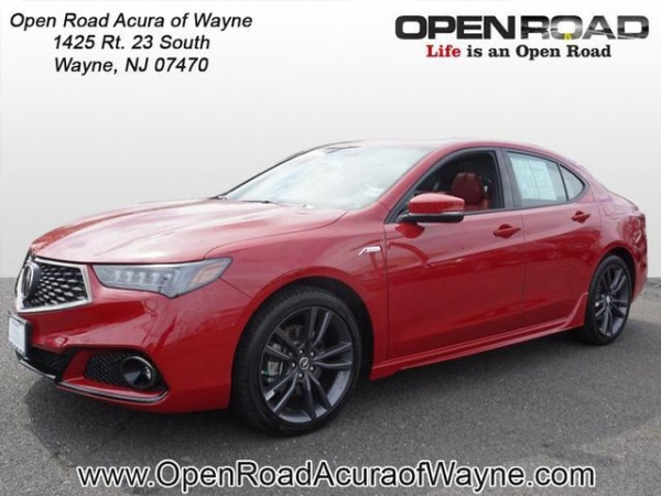 Open Road Acura Wayne >> 2019 Acura Tlx 3 5l Sh Awd With A Spec Red Package For Sale In Wayne