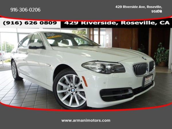 2014 BMW 5 Series in Roseville, CA
