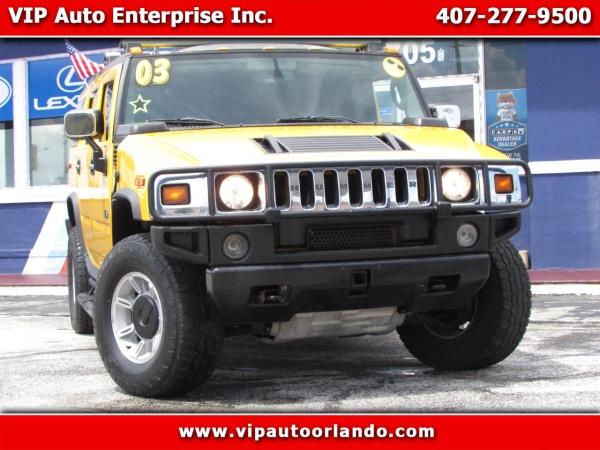 2003 HUMMER H2 SUV