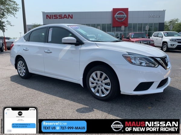2019 Nissan Sentra in New Port Richey, FL