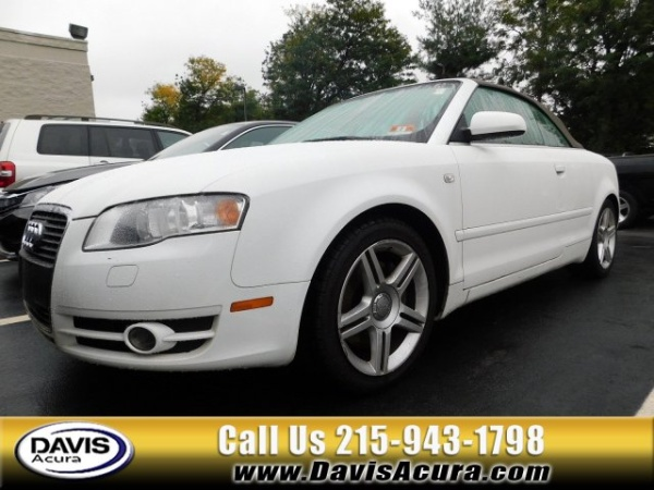 2008 Audi A4 Cabriolet 20t Quattro Automatic For Sale In Langhorne