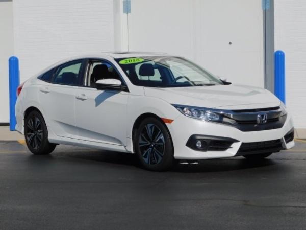Honda Fayetteville Nc >> 2018 Honda Civic Ex T Sedan Cvt For Sale In Fayetteville Nc