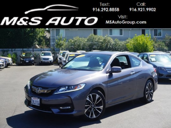 2016 Honda Accord Ex L V6 With Sensing Navigation Coupe Automatic