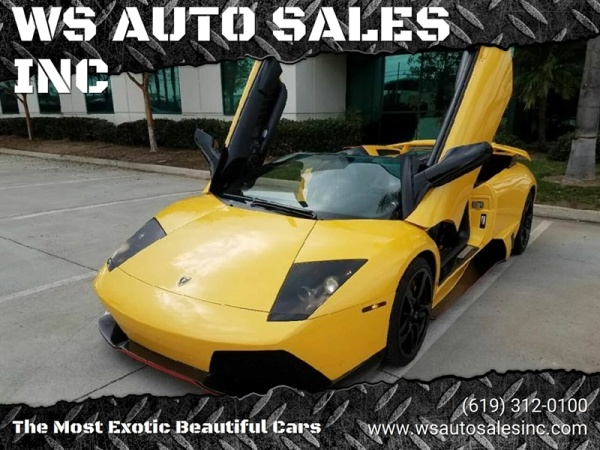 2007 Lamborghini Murcielago Lp640 Roadster For Sale In El Cajon Ca