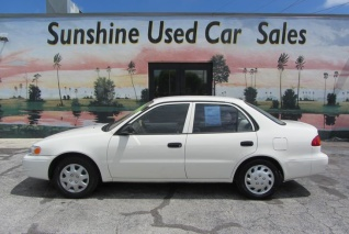 Used 1999 Toyota Corolla VE Automatic For Sale In West Palm Beach, FL
