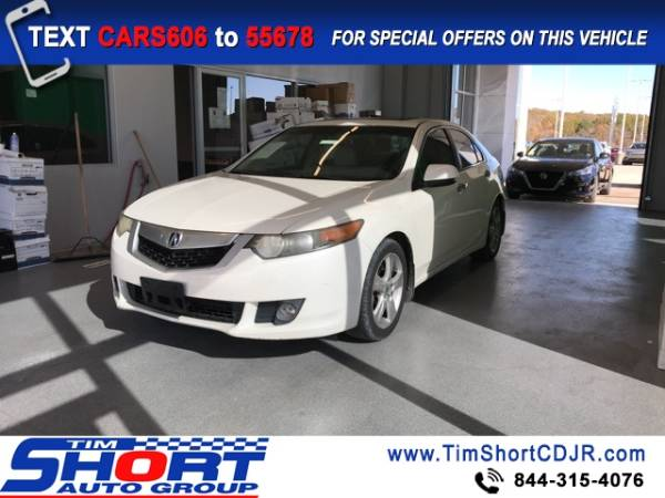 2009 Acura TSX Automatic with Technology Package …