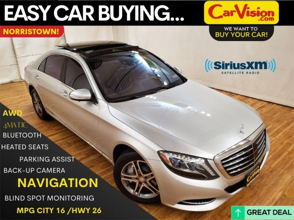 2016 Mercedes-Benz S-Class in Norristown, PA