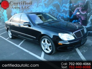 Used 2004 Mercedes Benz S Class S 500 Sedan RWD For Sale In Las