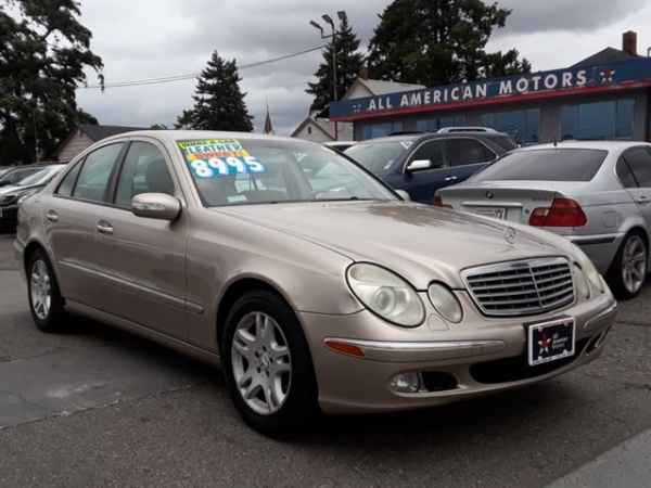 2005 Mercedes-Benz E-Class Reliability - Consumer Reports