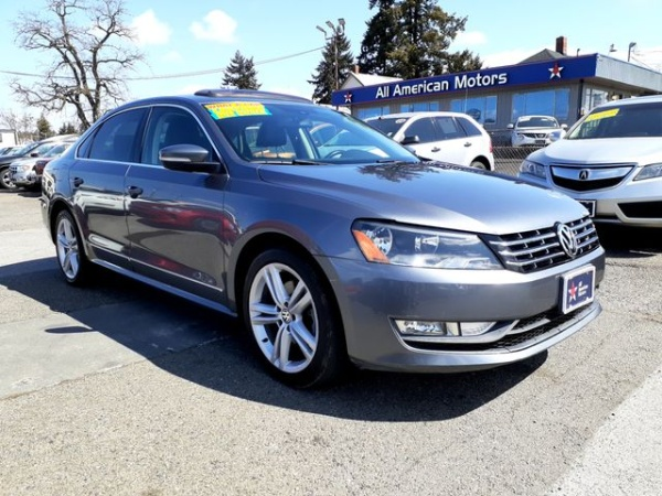 2013 Volkswagen Passat in Tacoma, WA