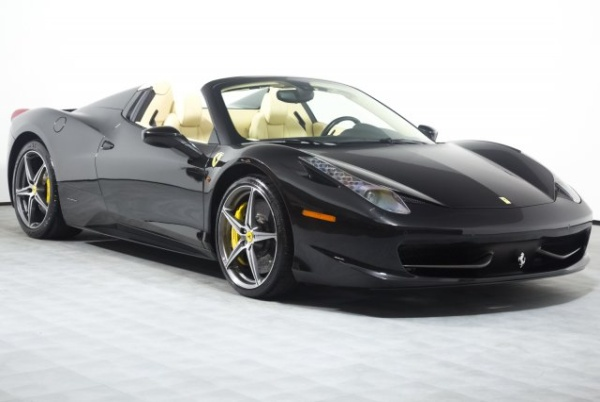 2012 ferrari 458 italia spider for sale in newport beach ca truecar. Black Bedroom Furniture Sets. Home Design Ideas