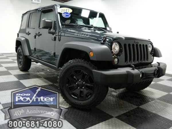 2017 Jeep Wrangler Willys Wheeler