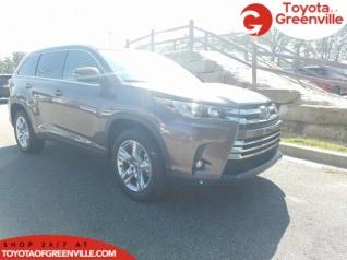Toyota Of Greenville >> 2019 Toyota Highlander Limited V6 Fwd For Sale In Greenville