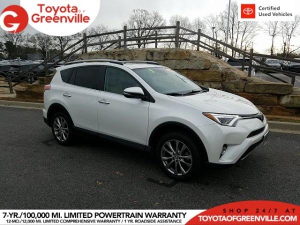 2017 Toyota RAV4 in Greenville, SC