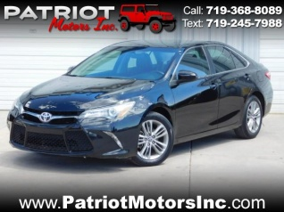Used 2015 Toyota Camry SE I4 Automatic For Sale In Colorado Springs, CO
