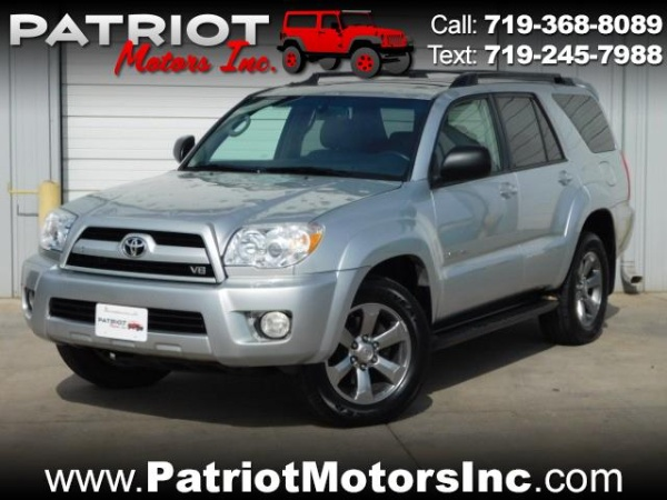 2008 Toyota 4runner Limited V8 4wd For Sale In Colorado Springs Co