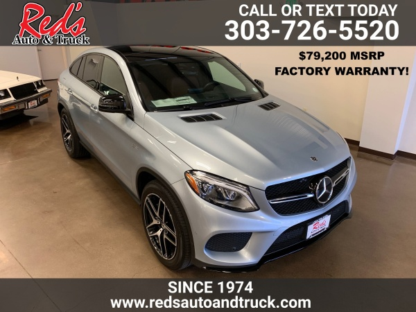 2018 Mercedes-Benz GLE-Class AMG GLE 43