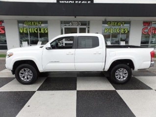 Used 2017 Toyota Tacoma SR5 Double Cab 5u0027 Bed V6 RWD Automatic For Sale In