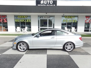 Used 2015 Mercedes Benz C Class C 250 Coupe RWD For Sale In Wilmington