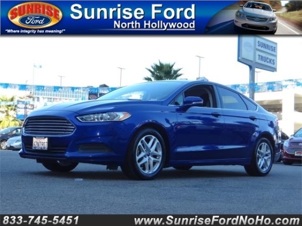 2013 Ford Fusion in North Hollywood, CA