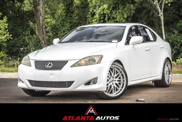 2007 Lexus IS 250 4dr Sport Sedan Manual ... $9,999 Marietta, GA