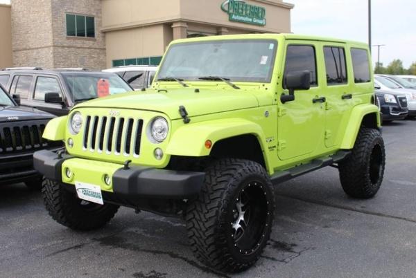 2017 Jeep Wrangler in Fort Wayne, IN