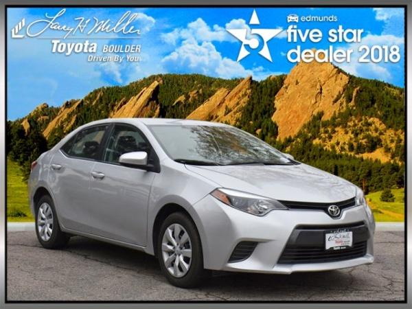 2016 Toyota Corolla in Boulder, CO