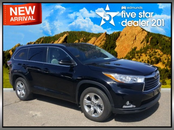 2016 Toyota Highlander In Boulder Co