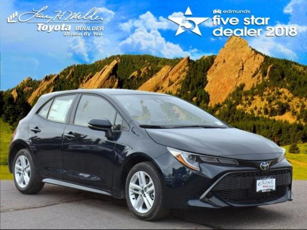 2019 Toyota Corolla Hatchback in Boulder, CO