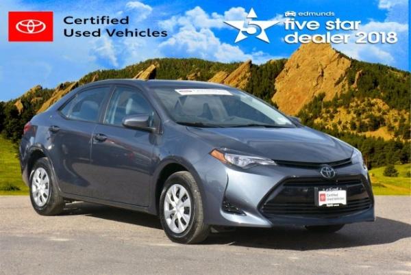 2017 Toyota Corolla in Boulder, CO