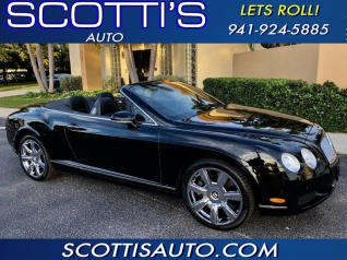 2007 Bentley Continental Gt W12 Convertible For In Sarasota Fl