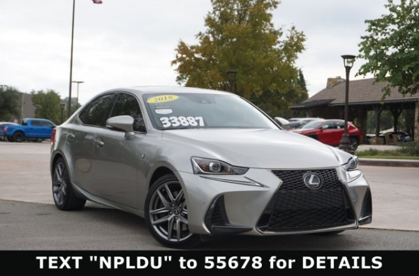 2018 Lexus IS in San Antonio, TX
