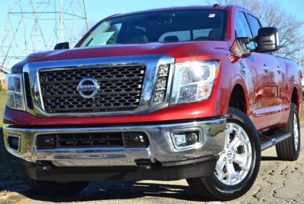 2017 nissan titan xd sv crew cab diesel 4wd for sale in burbank il truecar. Black Bedroom Furniture Sets. Home Design Ideas