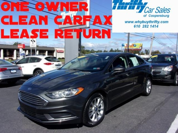 2017 Ford Fusion in Coopersburg, PA