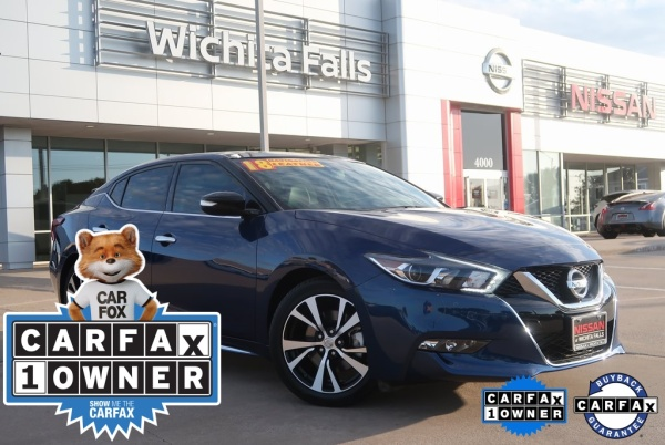 2018 Nissan Maxima in Wichita Falls, TX