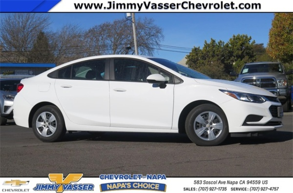 2017 Chevrolet Cruze in Napa, CA