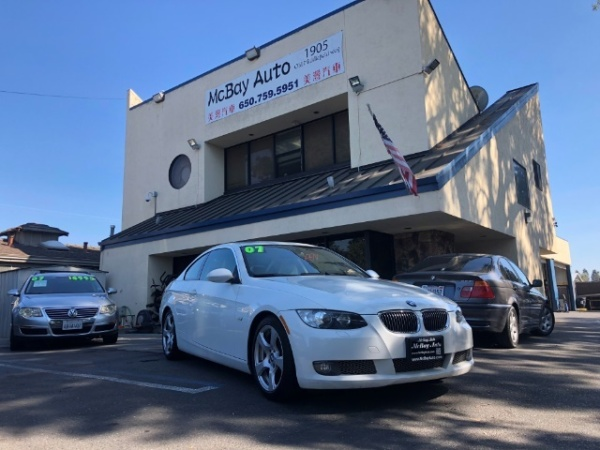 Bmw Mountain View >> 2007 Bmw 3 Series 328i Coupe Sulev For Sale In Mountain View Ca