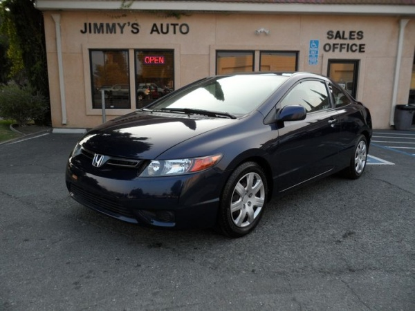2008 Honda Civic Coupe 2dr Auto LX $8,800 Brentwood, CA