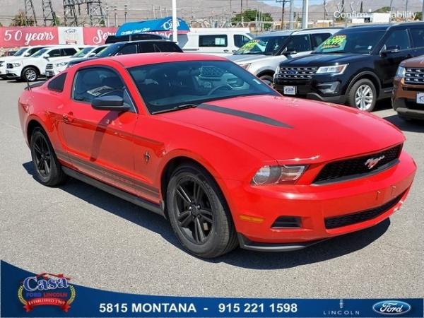 2012 Ford Mustang in El Paso, TX