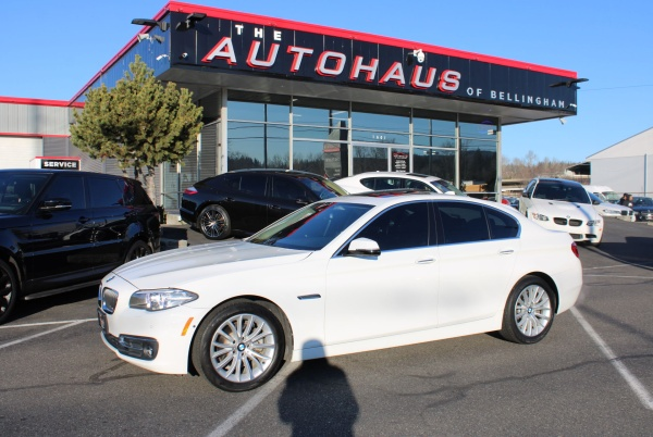 2015 BMW 5 Series in Bellingham, WA