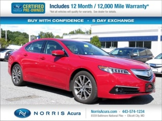 2017 Acura Tlx V6 Sh Awd With Advance Package For In Ellicott City