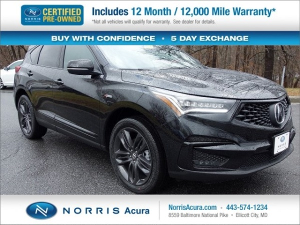 2019 Acura RDX SH-AWD with A-Spec Package