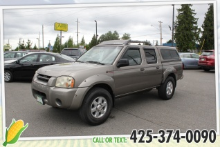 2003 nissan frontier sc supercharger crew cab sb v6 4wd automatic for sale  in everett,